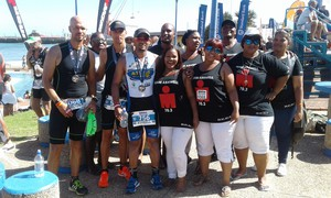 Photo of Ironman participants