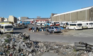 Photo of taxi rank
