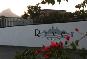 Photo of entrance to the River Club
