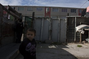Photo of child in Manenberg