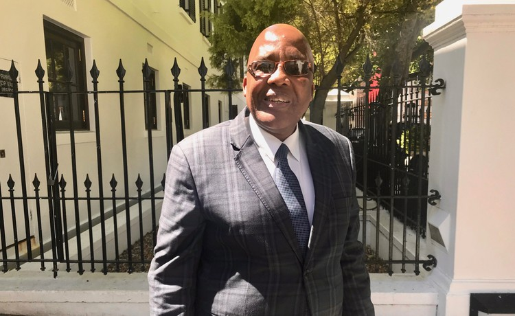 Photo of Aaron Motsoaledi