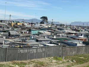 Photo of informal settlement