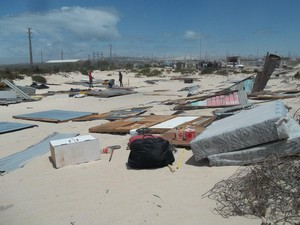 Photo of Khayelitsha after demolition