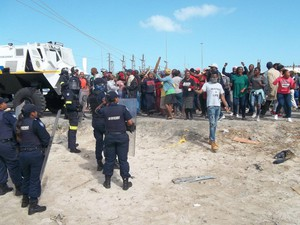 Land Occupation in Khayelitsha
