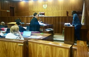 Photo inside court