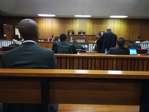 Photo of inside of court