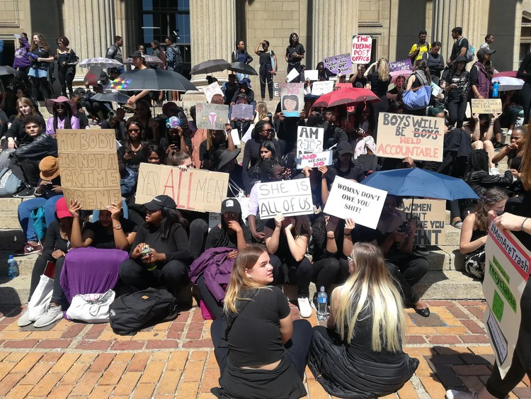 Photo of Wits protesters