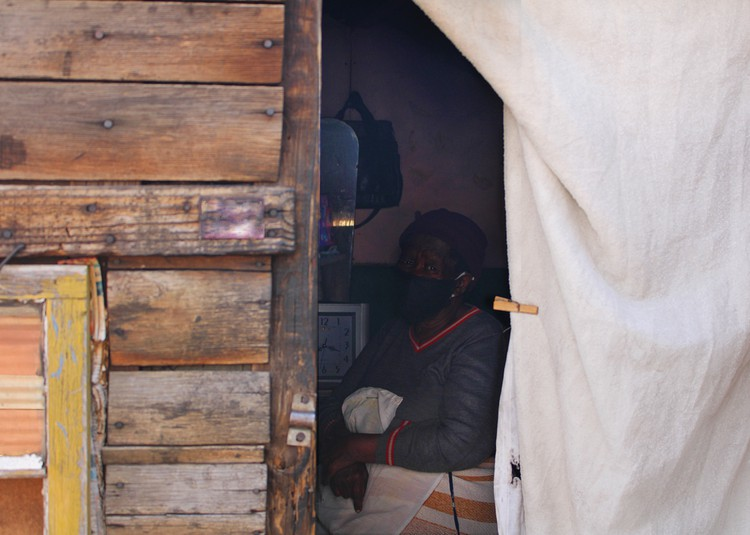 """""""We don't have anywhere else to go,"""" says Johannesburg occupier"""