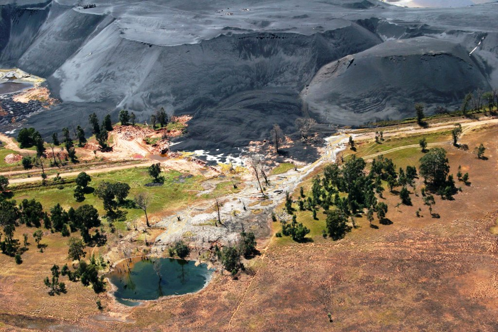 Photo of a mine