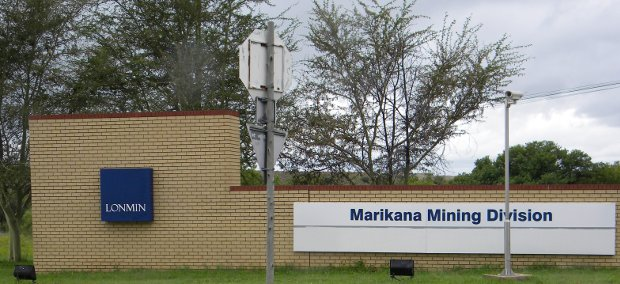 Photo of Lonmin's Marikana offices