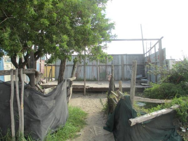 Andiswa's BnB after it was demolished by BKS officials. Photo by Mary-Jane Matsolo.