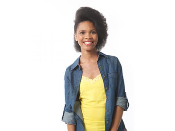 Mihle Pike, the new presenter of Siyayinqoba Beat It!