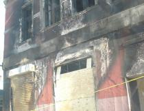 Barmooda lounge after fire. Photo Nokubonga Yawa