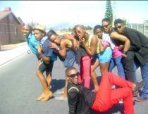 Having fun in Khayelitsha. Photo by Pharie Sefali.