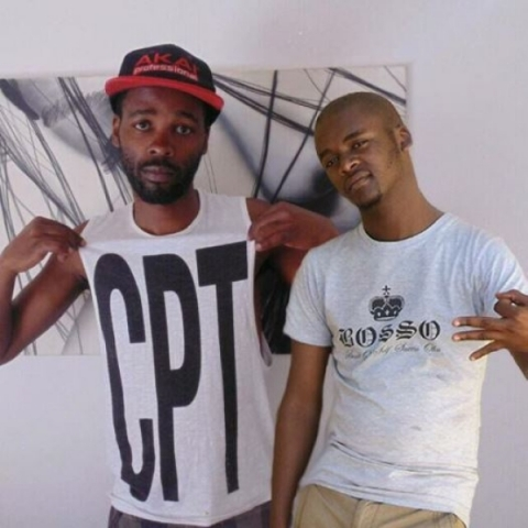 Sandisile 'Skillz' Ntleki and Silindokuhle 'Slie' Baka form rap duo Xhosa Tribe. Picture courtesy of the artists.