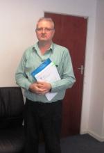 Gerrit Janse Van Rensburg executive member of FIPSA. Picture by Bernard Chiguvare.