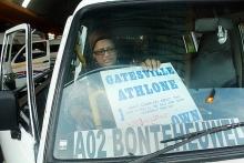 Amina Stevens drives a taxi on the Cape Flats. Photo by Masixole Feni.