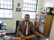 Ukanyo Primary School principal Phuthumile Michael Tyhali. Photo by Bernard Chiguvare.