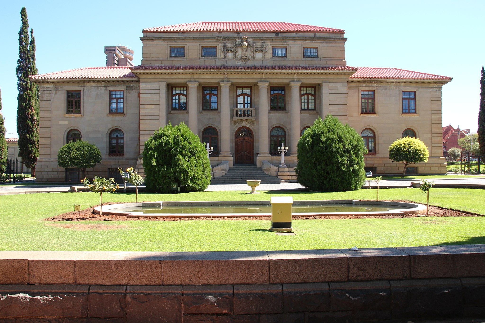 Photo of court building