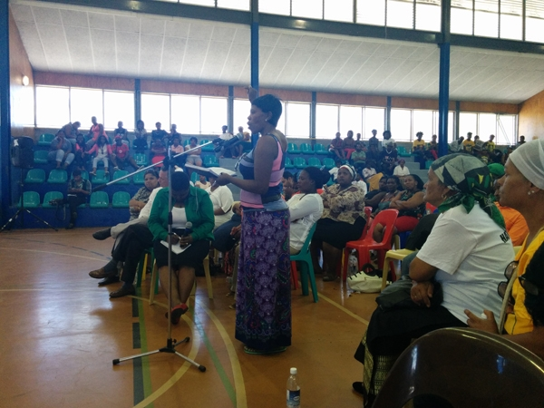 Photo of a meeting in Gugulethu