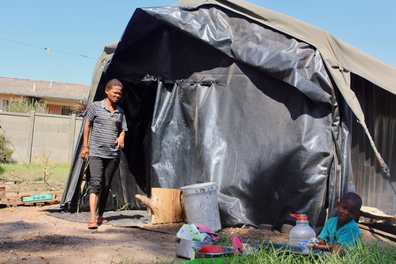Evicted families stuck in Paarl caravan park for a year