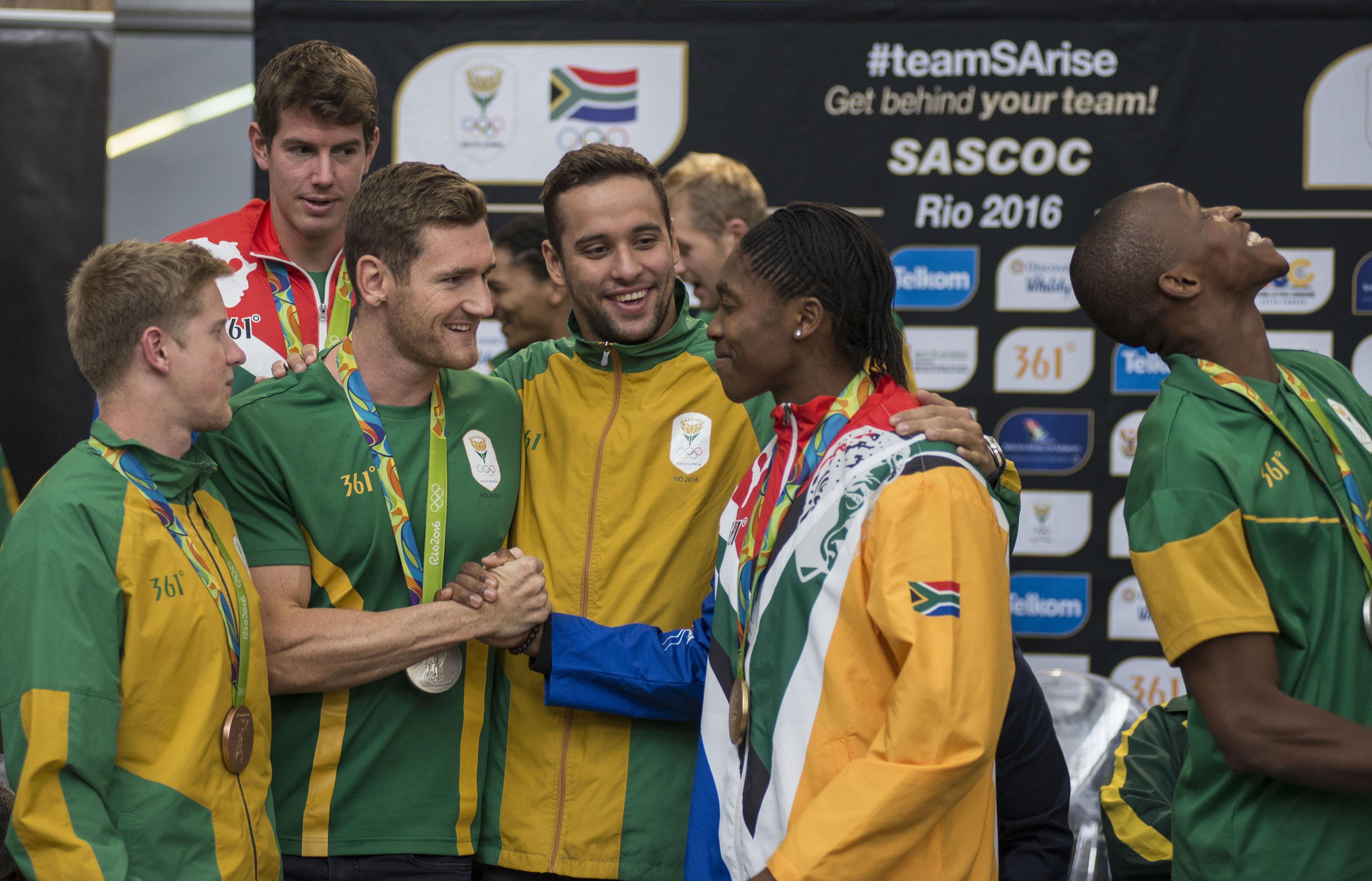 Photo of SA Olympians