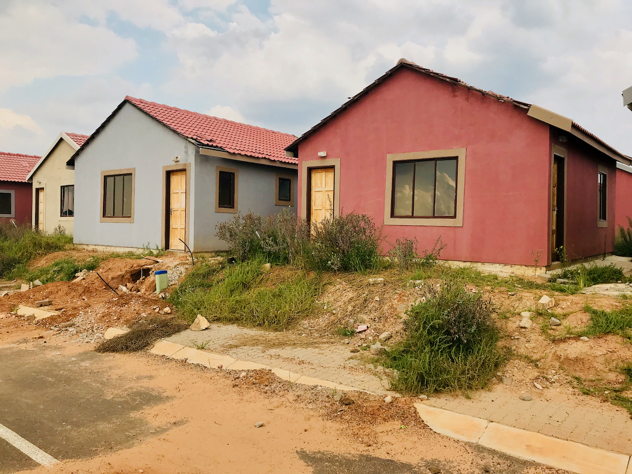 Tensions rise as 600 RDP houses stand empty in Nigel