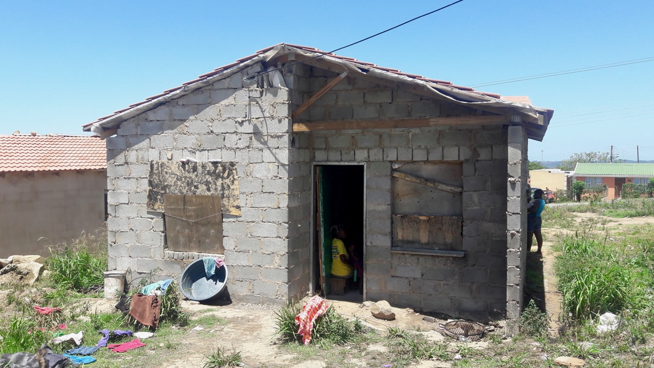 Buffalo City mum on its shoddy RDP houses