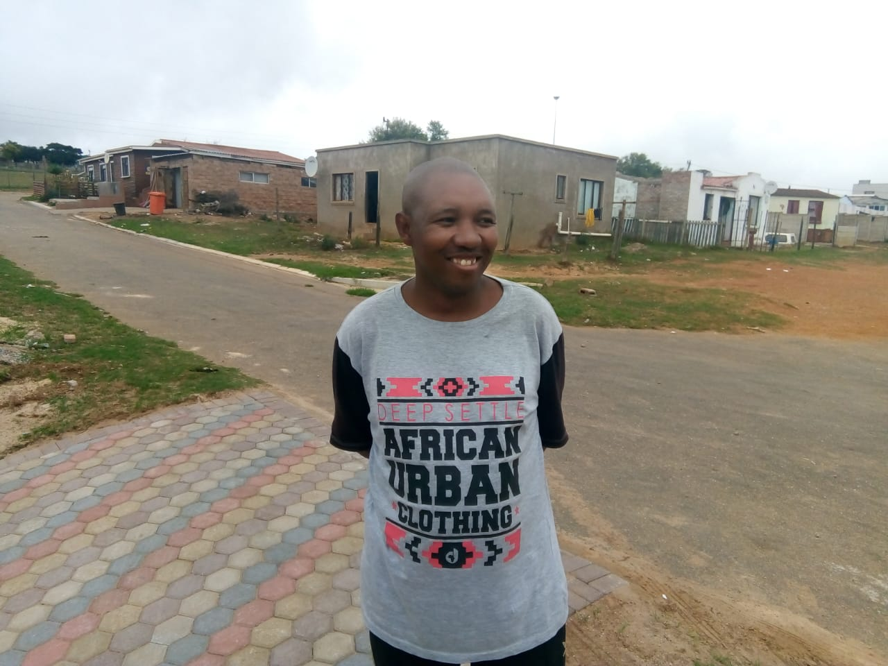 Unemployed for three years, Thulani Ngwenya believes entrepreneurship is the way to go