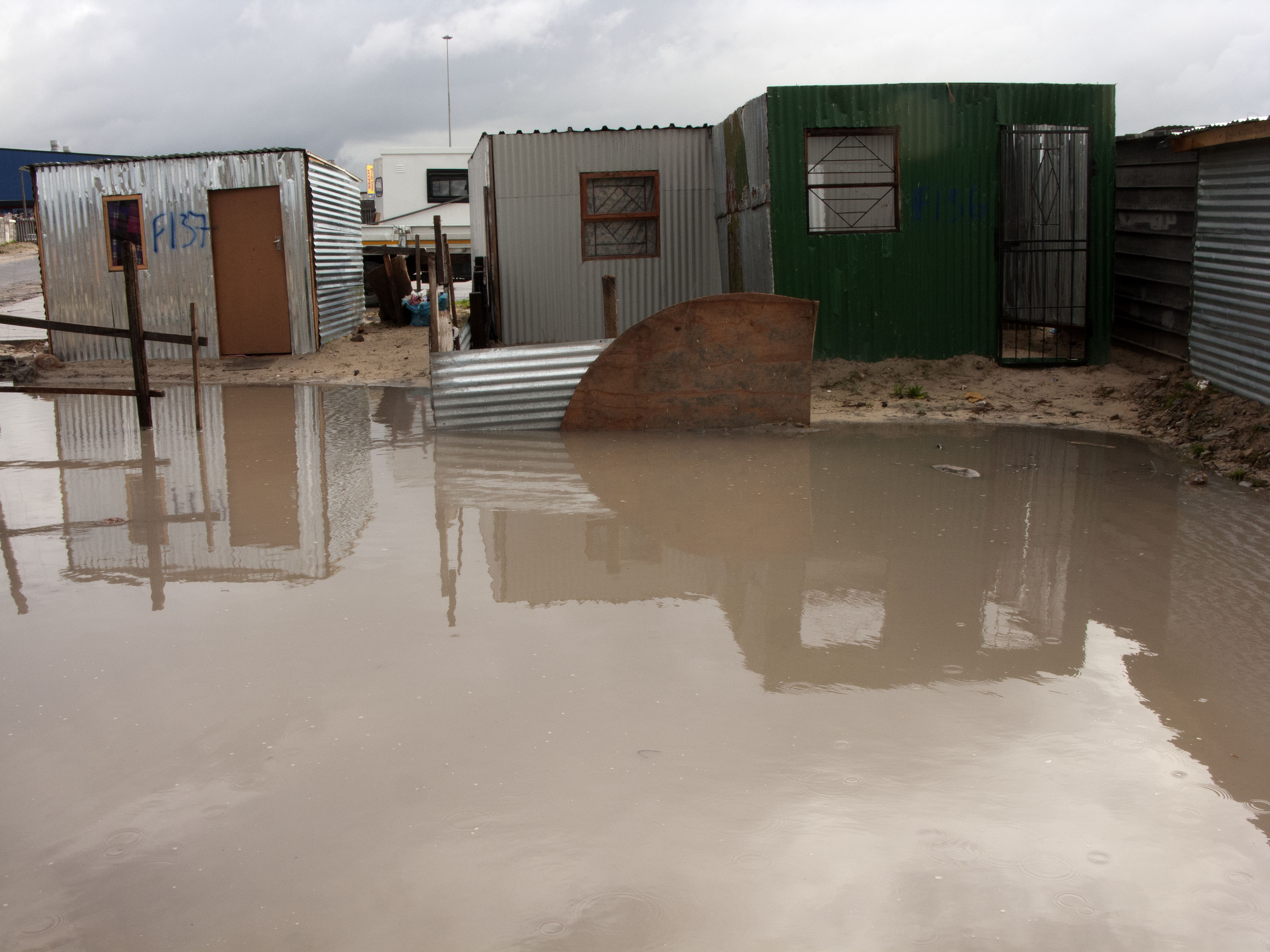 Photo of flooding in Cape Town