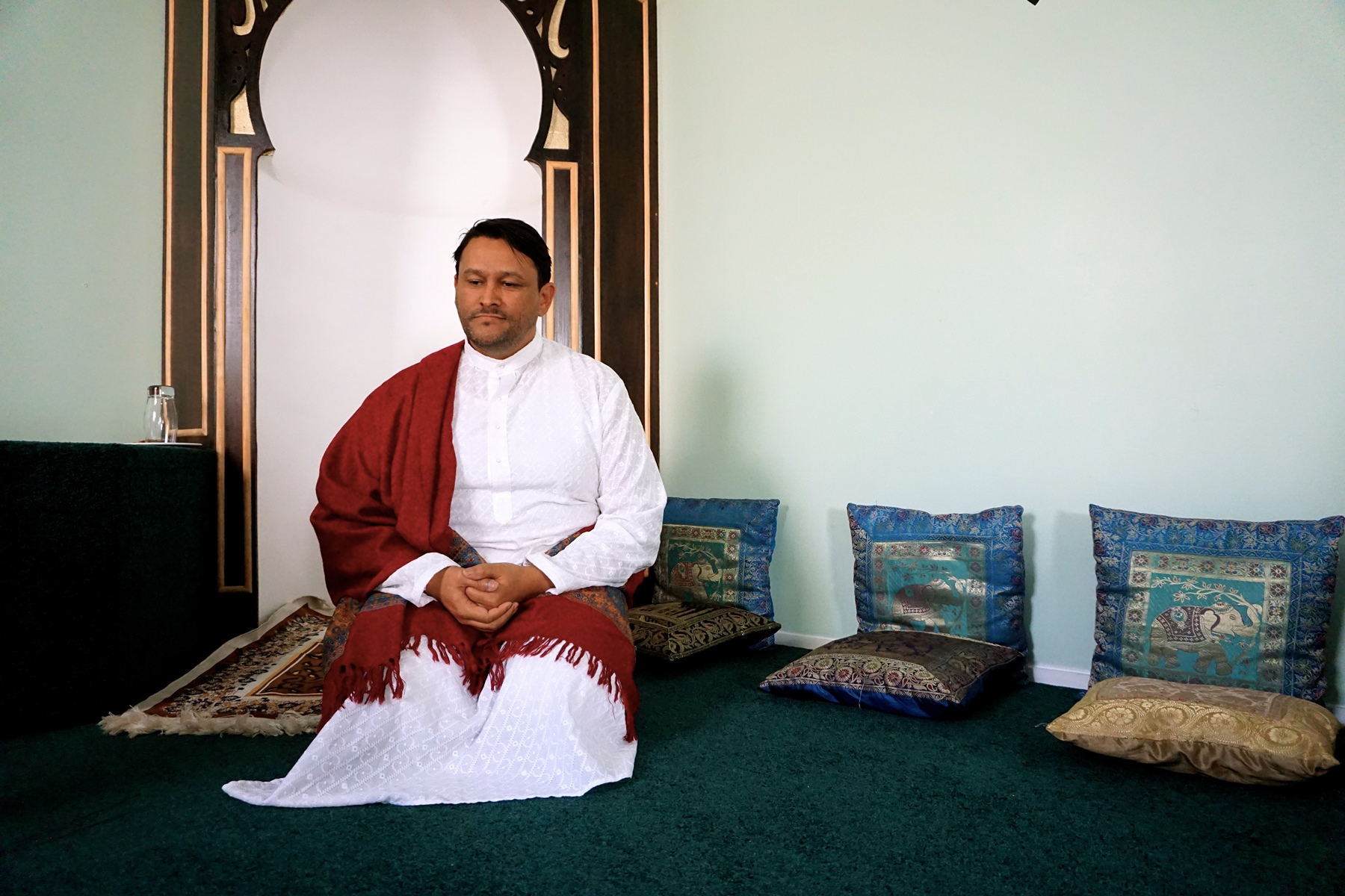 Photo of an imam