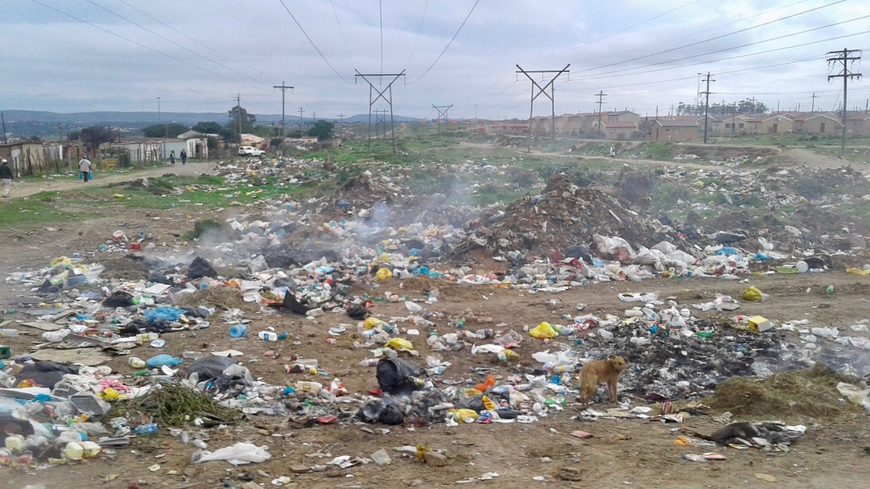 The municipality is not collecting our rubbish, but they