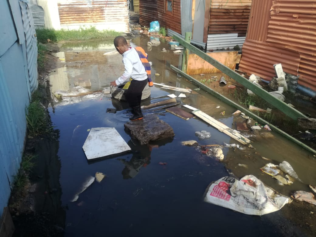 Informal settlements flooded by heavy rains | GroundUp