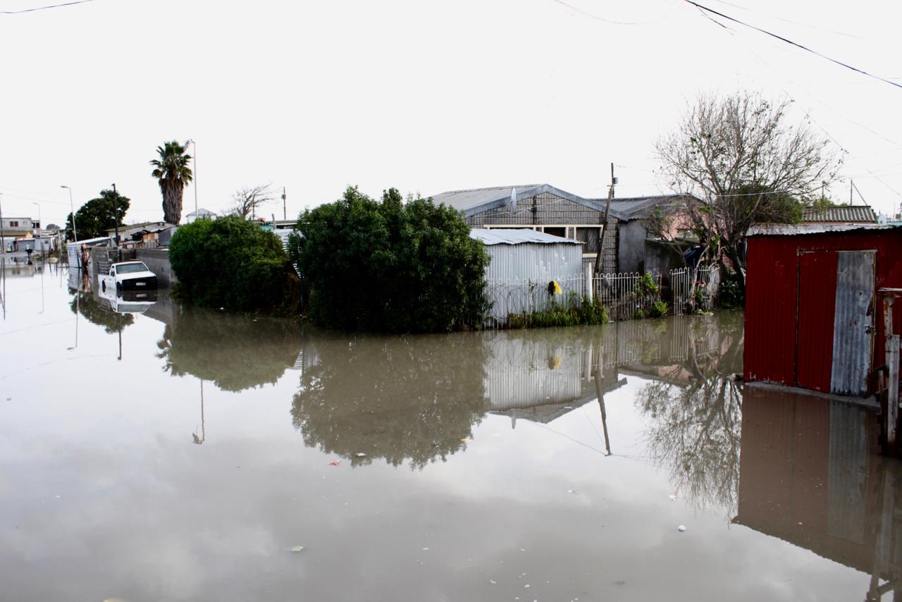 Shacks flood in Cape Town rains | GroundUp