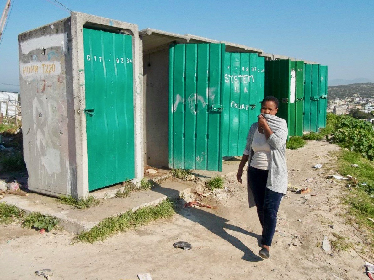 Hundreds share one working toilet in Khayelitsha neighbourhood ...