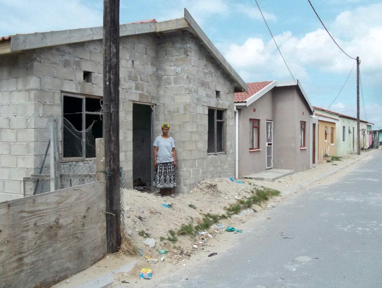RDP house not finished after seven years