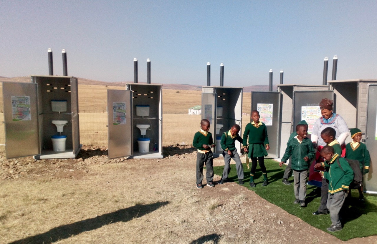 Rural school gets toilets thanks to private company | GroundUp
